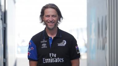 Marty Yates, Emirates Team New Zealand IT Manager