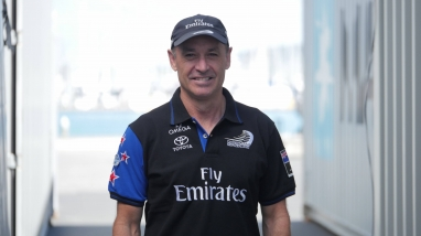 Kevin Shoebridge, Emirates Team New Zealand Chief Operations Officer