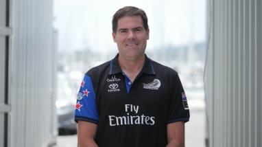 Paul Wilson, Emirates Team New Zealand Physiotherapist