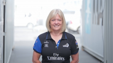 Steph Stubbs, Emirates Team New Zealand Sponsor Liaison, Accounts, Administration