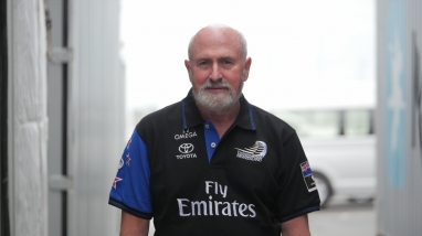 Emirates Team New Zealand Meteorologist Roger Badham