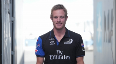 Jack Taylor, Emirates Team New Zealand Boat Manager