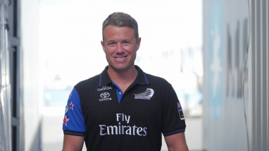 Nick Burridge, Emirates Team New Zealand Boat Captain, Rigger
