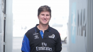 Ricky Bray, Emirates Team New Zealand Boat Builder