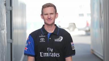 Emirates Team New Zealand Sailmaker & fairings Matt Hibbard