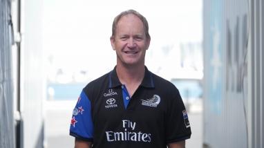 Martin McElwee, Emirates Team New Zealand Production Coordinator