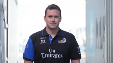 Tim Meldrum, Emirates Team New Zealand Mechanical Designer