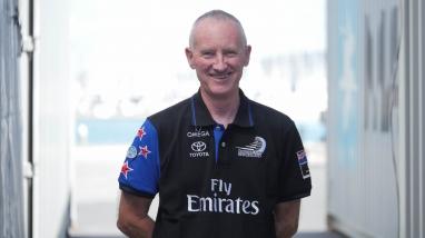 Neil Wilkinson, Emirates Team New Zealand Mechanical Designer