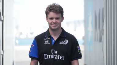 Nick Hutchins, Emirates Team New Zealand Performance Engineer
