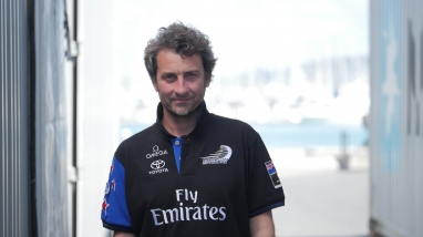 Guillaume Verdier, Emirates Team New Zealand Naval Architect