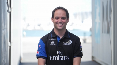 Jean Claude Monin, Emirates Team New Zealand Software Engineer