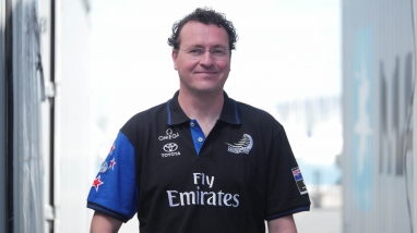 Mark de Gids, Emirates Team New Zealand Software Engineer