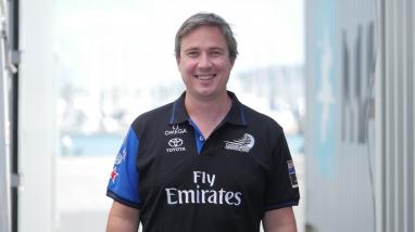 Steve Collie, Emirates Team New Zealand Wing Coordinator