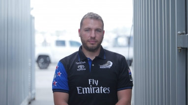 Massimiliano Carbone, Emirates Team New Zealand Hydraulics Technician