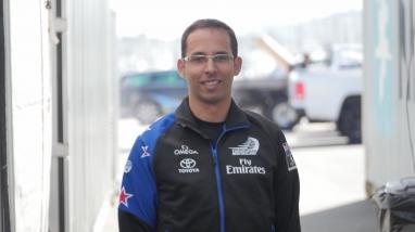 Roger Frigola, Emirates Team New Zealand Performance Engineer