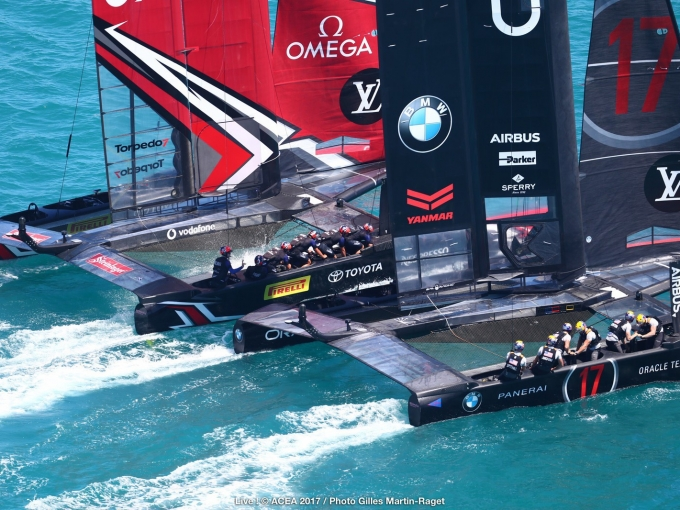 Bermuda (BDA) - 35th America's Cup Match presented by Louis Vuitton, Day 4 ¬&# ACEA 2017 / Photo Gilles Martin-Raget