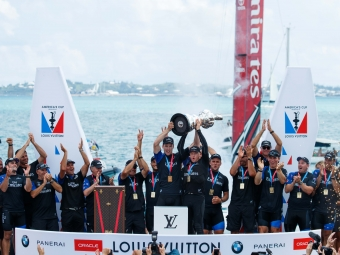 th America's Cup Match presented by Louis Vuitton. Emirates Team New Zealand vs. Oracle Team USA races 9 & 10  Copyright: Richard Hodder / Emirates Team New Zealand