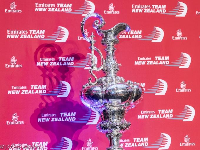 Emirates Team New Zealand in Dubai