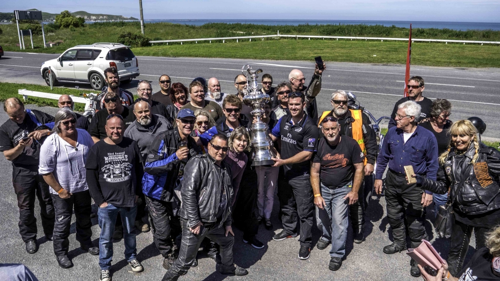 The America's Cup regional Tour visits Lake Taupo