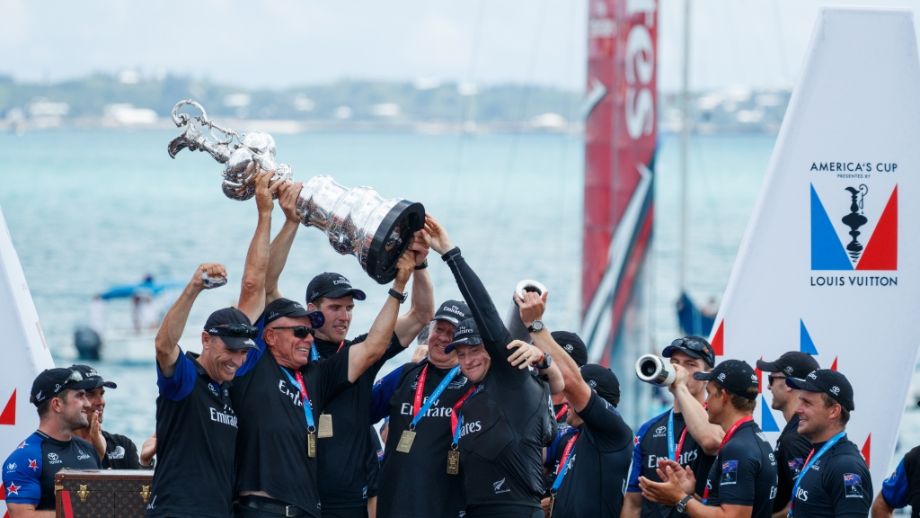 26/06/17 35th America's Cup Match presented by Louis Vuitton. Emirates Team New Zealand vs. Oracle Team USA races 9 & 10  Copyright: Richard Hodder / Emirates Team New Zealand