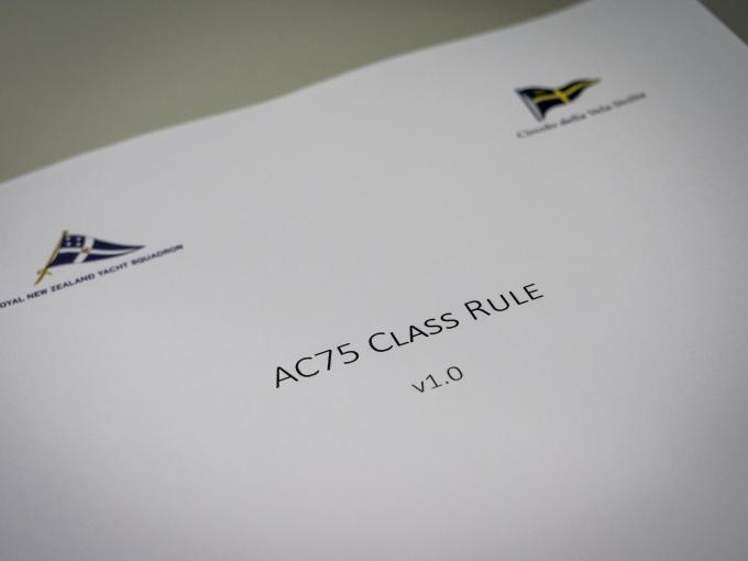 29/3/18- 36th America's Cup Class Rule